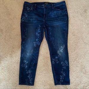 Lucky Brand Hayden skinny size 22W